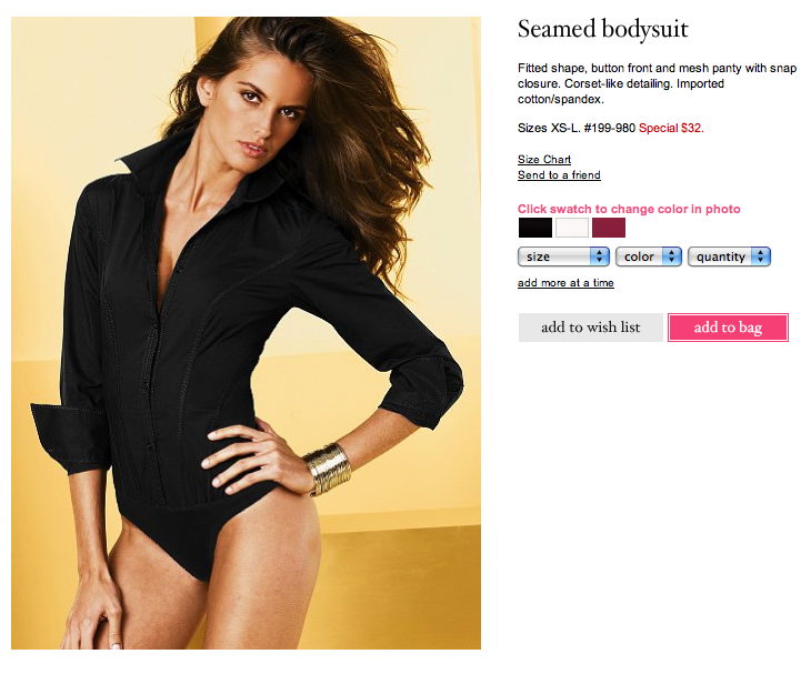 402ed571e6 ... Perry's style paired with shorts. You can pair these beautiful  bodysuits at Victoria's Secret with jeans or a skirt, they're actually made  for that, ...